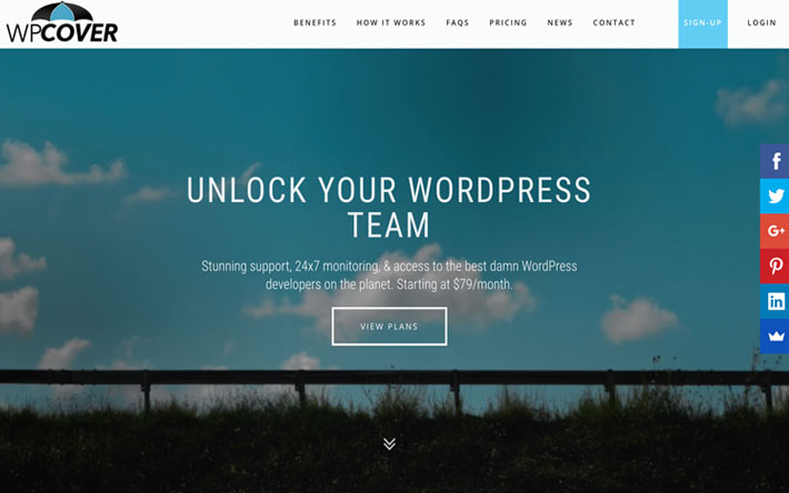 WP Cover – Your WordPress Team