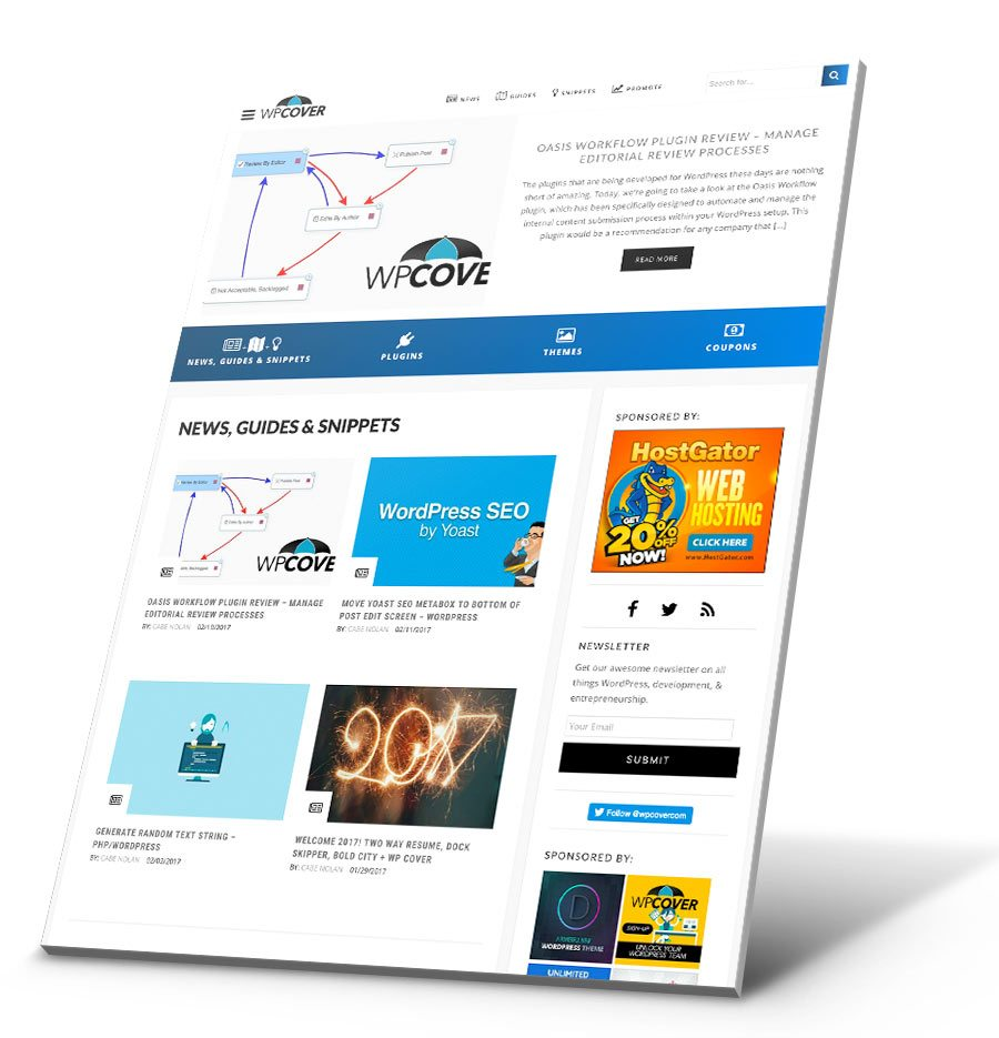 WP Cover WordPress Website Design