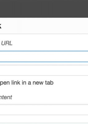 Featured Image For WordPress Content Editor Default Links To New Tab/Window