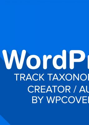 Featured Image For WordPress – Track Creator (Author) of Taxonomy Terms