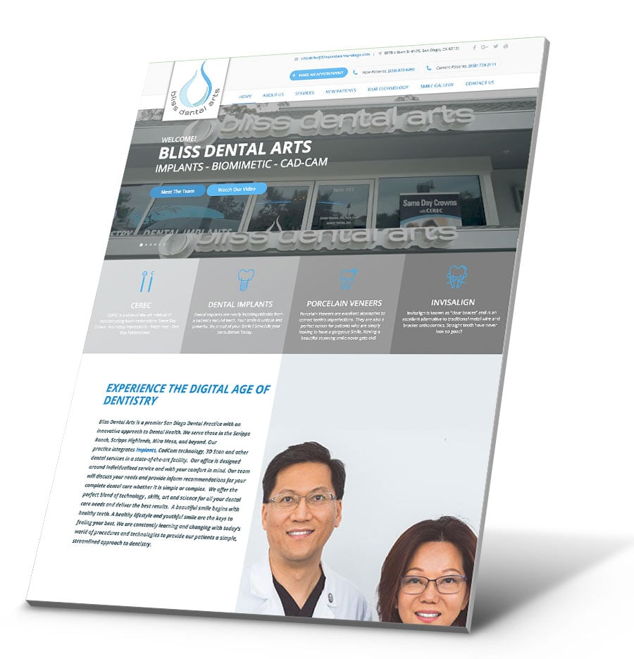 Featured Image For Bliss Dental Arts San Diego