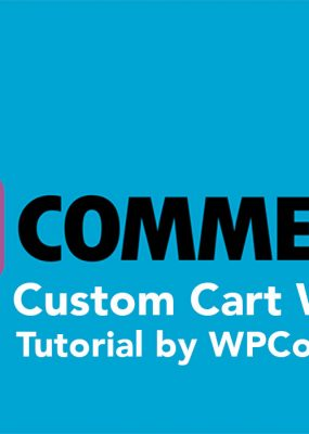 Featured Image For Create WooCommerce Custom Cart Widget