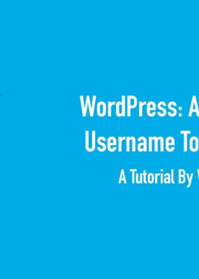Featured Image For Auto-Update WordPress Username If Email Changes